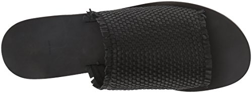 Frye Womens Riley Woven Slide Sneaker Zwart