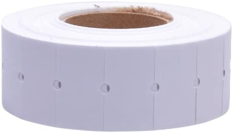 White Removable Labels to fit Motex MX5500 Price Guns 16 Pack Free Ink roll Included