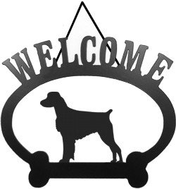 Spaniel Welcome Sign - 4