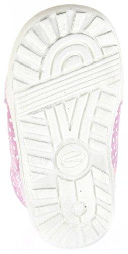 Richter Kinder Minis Pink Velour Lederdeck Schnürer Mädchen-Schuhe 0024-736-3111 Mini Pink
