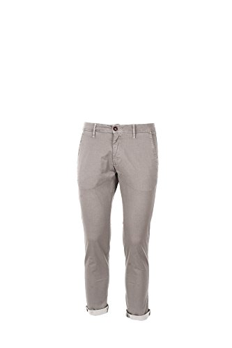 Pantalone Uomo Squad 48 Grigio Gbc8052 Primavera Estate 2017