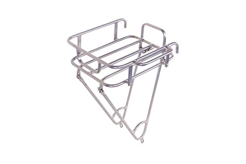 Pure City Urban Front Bike Cargo Rack, Silver