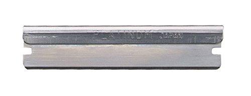 Diane Stainless Steel Polymer Hair Shaper Razor Shaving Blades, 60 Pack, D22B