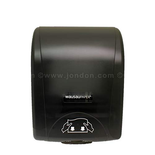 Silhouette OptiServ Controlled Roll Towel Dispenser, Black (6 Units)