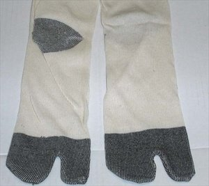 Japanese Long Ninja Boot Tabi Sock #1798