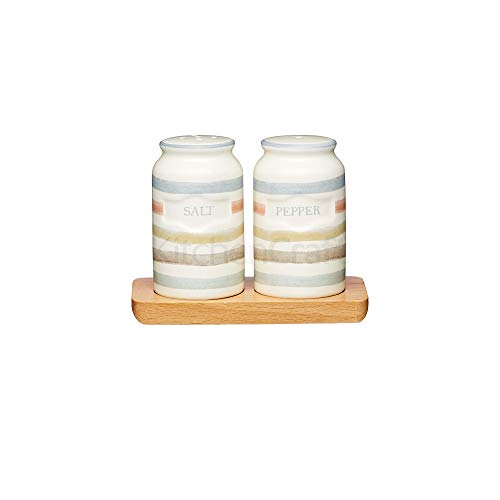 Kitchencraft Classic Collection Vintage-style Ceramic Salt And Pepper Shakers