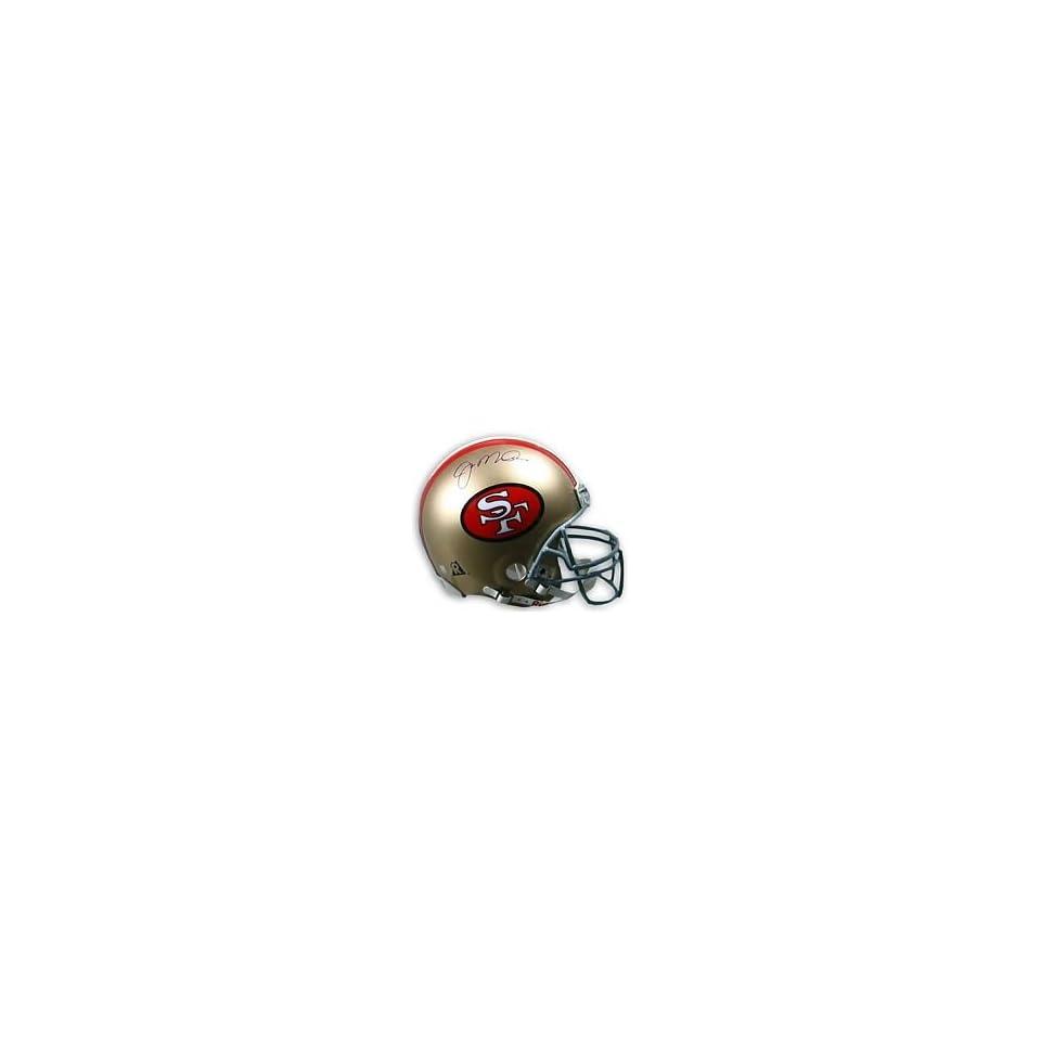 Joe Montana Hand Signed Autographed San Francisco 49ers Full Size Riddell Foo
