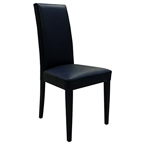 Sedie In Legno Imbottite.2 Sedie Legno Faggio Imbottite Ecopelle Moderne Design Cucina