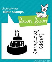 Lawn Fawn - Clear Acrylic Stamps - Year One (Stamps Acrylic Fawn Lawn)