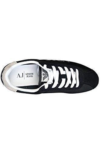 ARMANI, Sneaker uomo Nero nero, Nero (nero), 43
