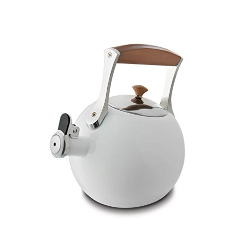 Nambe MT0888 Tea Kettle, White