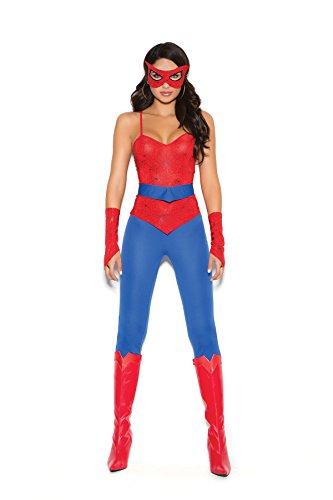 Women's Spider Power Hero Cosplay Costume Set