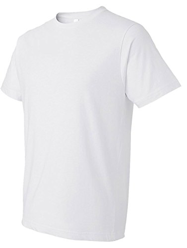 Anvil Adult Lightweight T-Shirt, Wht, Medium