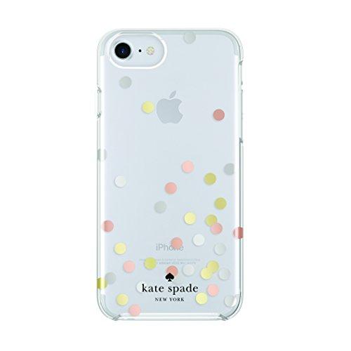 Incipio Apple iPhone 6/6S/7/8 Kate Spade Hard-Shell Case - Confetti Dot Clear/Silver/Gold/Rose Gold