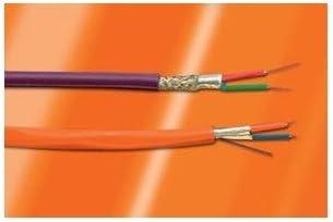 22 AWG Individually Foiled /& Braid Twist Alpha Wire 6452 SL005