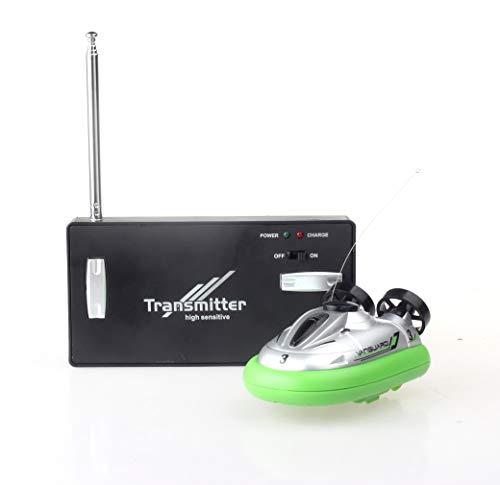 Impulls Mini Micro I/R RC Remote Control Sport Hovercraft Hover Boat Toy 777-220 Green Color FSWB (Hover Boat)