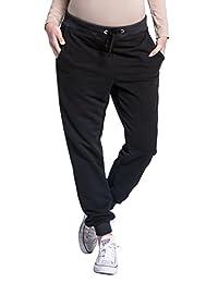 Zeta Ville - Womens pregnancy pants trousers stretch cuffs sweatpants - 668c