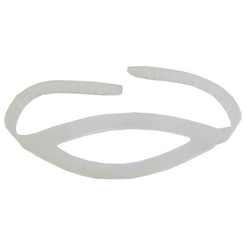 Scuba Choice Scuba Diving Silicone Mask Strap, (Clear Silicone Mask Strap)