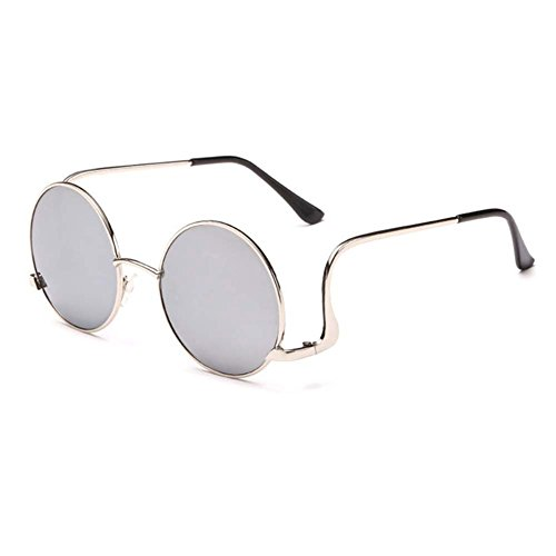 My.Monkey Unisex Fashion Retro Style Round Metal Frame - Jackie O Sunglasses History