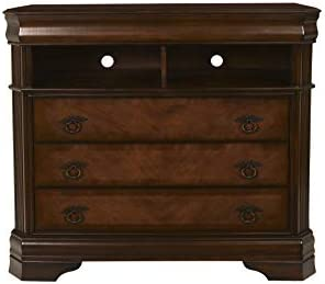 New Classic Furniture 00-005-078 Sheridan TV Media Chest, Burnished Cherry
