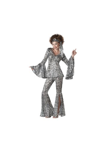 Foxy Lady Disco Adult Costume -
