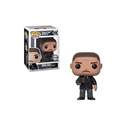 Funko POP! Movies James Bond Goldfinger Oddjob (Hat)