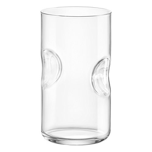Rocco Glass Bormioli Glass Highball - Bormioli Rocco Giove Cooler Glasses, Clear, Set of 6