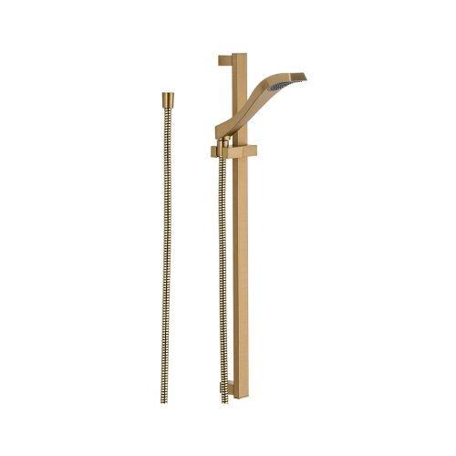 Delta Faucet 57051-CZ Dryden Slide Bar Hand shower, Champagne Bronze