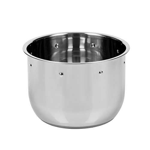 Secura 6-quart Pressure Cooker 18/10 Stainless Steel Cooking Pot