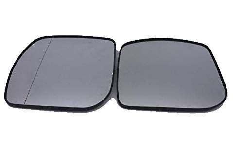 NICOLIE Left Side Glass Rear View Car Heated Side Mirror For Mercedes C180 C200 C300 E200 E300