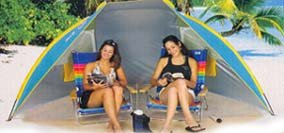 beach Tent Cabana SPF 50 w/ carry bag Colors vary by Nantucket ()