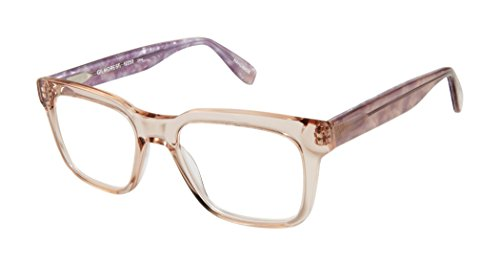 Gilmore Street - Square Trendy Fashion Reading Glasses for Men and Women - Cameo Blush (+1.75 Magnification Power) (Glasses Street Reading Scojo)