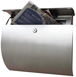 頑丈 ステンレス鋼の防錆ヨーロッパスタイルのヴィラレターボックス屋外クリエイティブは、レターボックスは、メールボックス防雨ポスト壁掛け 丈夫な