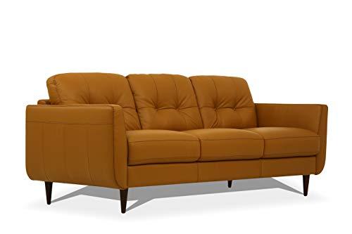 ACME Furniture 54955 Radwan Sofa, Caramel Leather
