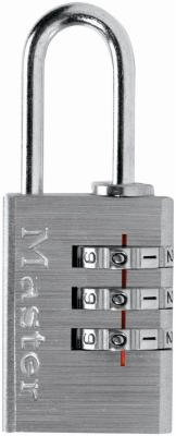 Master Lock 620D Brass Luggage Combination Padlock