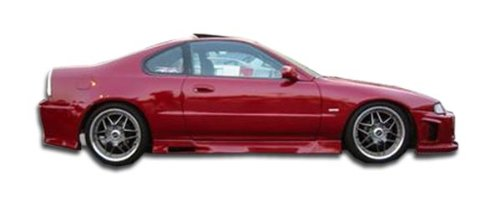 Duraflex ED-DDP-154 Spyder Side Skirts Rocker Panels - 2 Piece Body Kit - Compatible For Honda Prelude 1992-1996