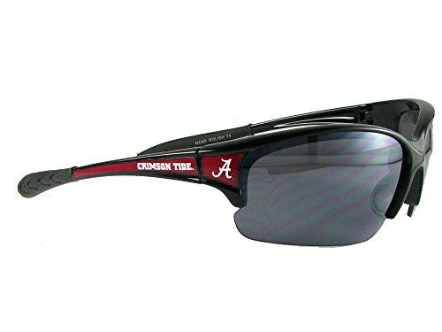 - Alabama Crimson Tide UA Black Red Elite Sunglasses S7JT