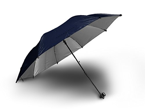 Field and Stream Chairbrella Umbrella Shade for Folding Chairs - UMBRELLA ONLY (Navy (Camping Chair Umbrella)