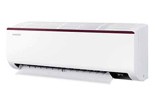 Samsung 1 Ton 4 Star Inverter Split AC (Copper, AR12AY4ZAPG, White) 2021 August Split AC with inverter compressor: Variable speed compressor which adjusts power depending on heat load. It is most energy efficient and has lowest-noise operation Capacity: 1.0 ton Energy Rating: 4 star