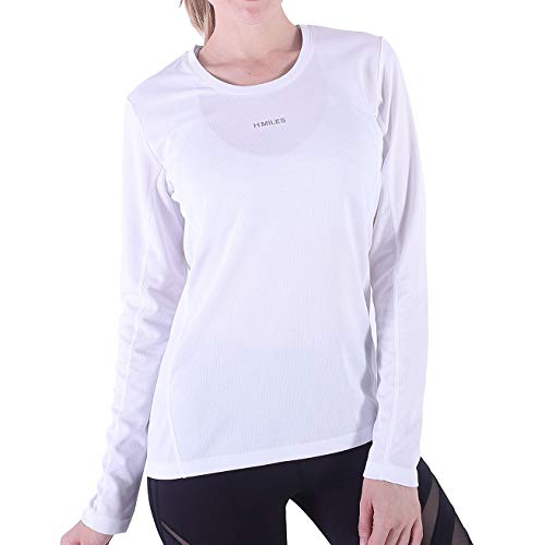 e12d95bd74450 Jual H.MILES Womens Running Shirt Long Sleeve Dry Fit Compression ...
