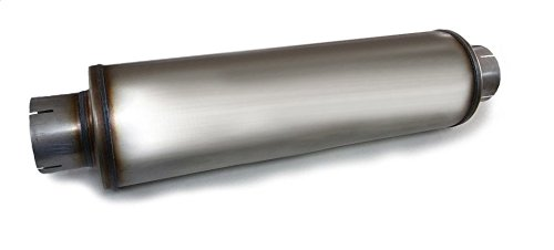 Stainless Performance Diesel Muffler outlet