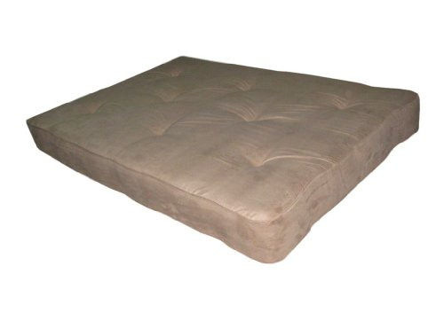 LIFE Home Home Life 8-Inch Independently-Encased Coil Premium Futon Mattress Full Size - beige