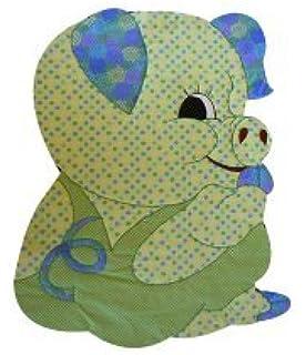 Amazon com: Baby Quilt Patterns, by Kiddie Komfies, Boy Pig