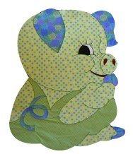 Amazon Com Baby Quilt Patterns By Kiddie Komfies Boy Pig Quilt