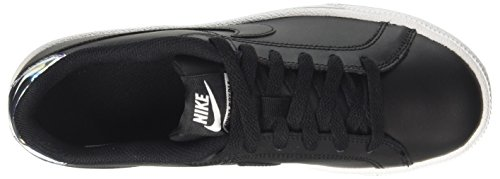 NIKE Metallic Silver Donna Sneaker Black Nero Royale 003 Court rYxwq764r