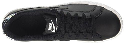 Argent Nike Light Royale Court Noir White Femme Bone Chaussures Métallique de Noir Gymnastique wapAqTPw4