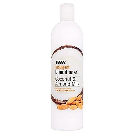 Tesco Coco y leche de almendras, acondicionador 500 ml: Amazon.es: Salud y cuidado personal