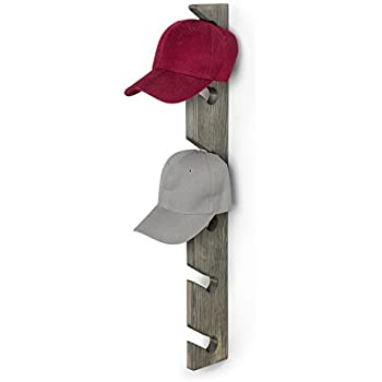 Amazon Com Baseball Cap Display Wall Mounted Hat Rack Baseball