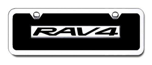 TOYOTA RAV4 Chrome Engraved Name Badge-Min ()
