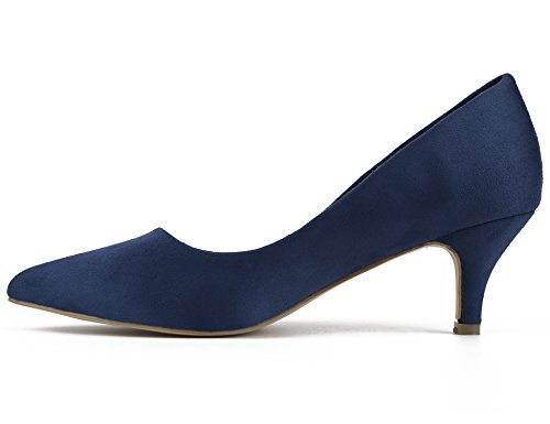 Donna Espiones Classics Suede tacco Eu 41 36 con Scarpe New Suedes Greatonu Blue I0FwqY